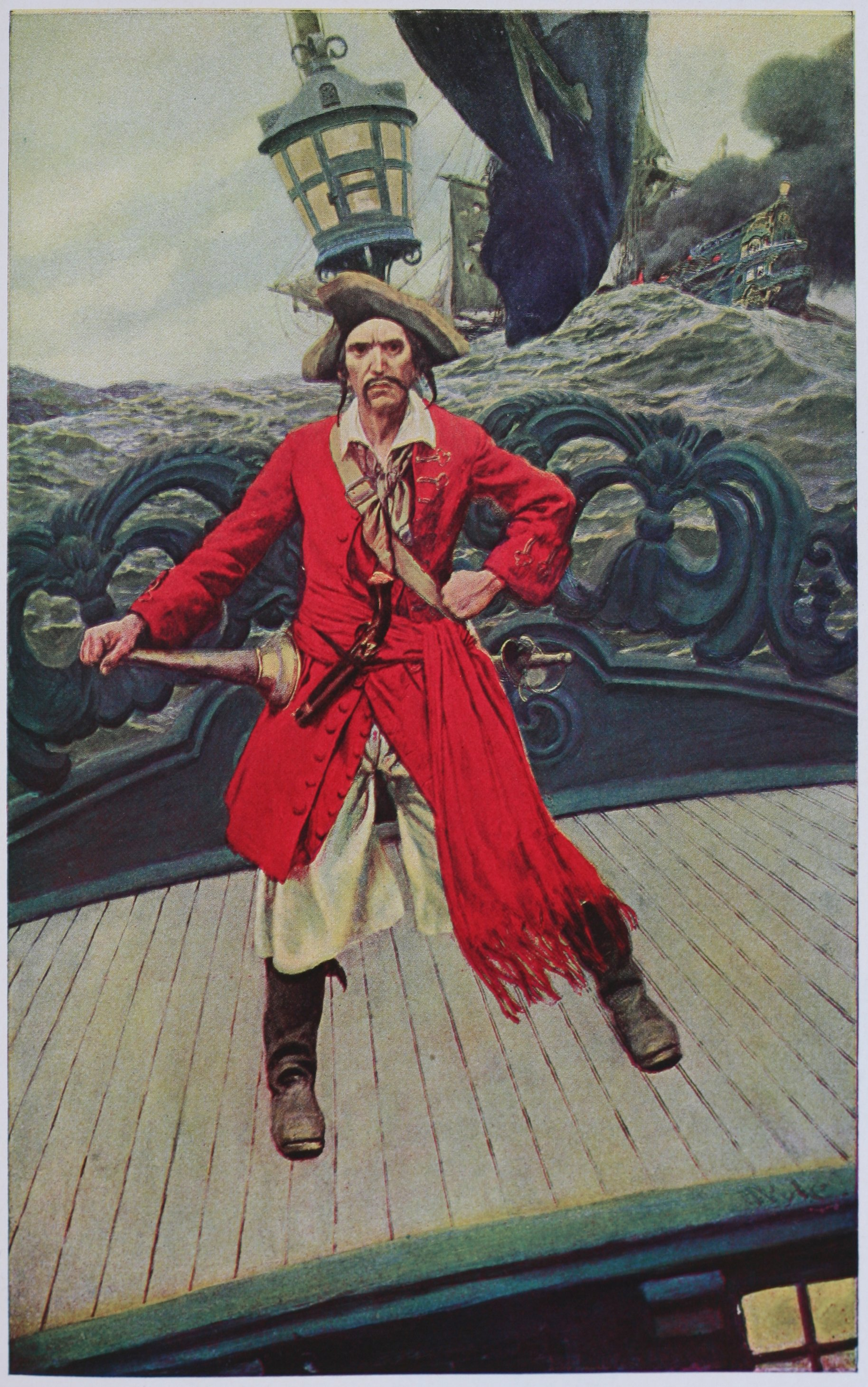 Image result for howard pyle pirates