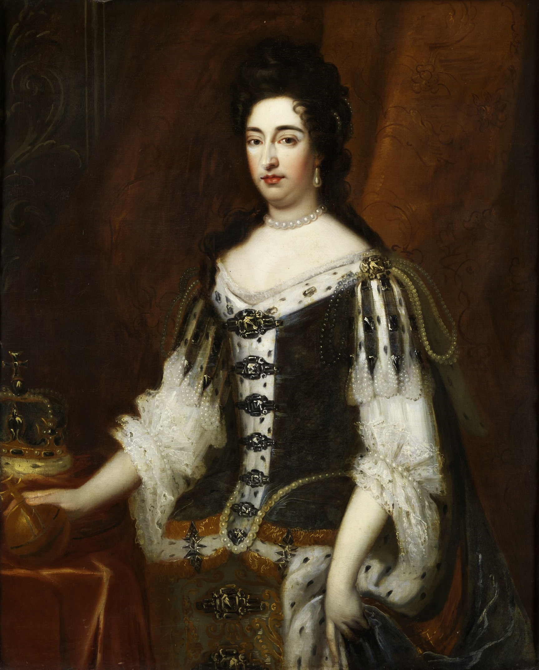 file queen mary ii th century portrait anonymous painter jpg file queen mary ii 18th century portrait anonymous painter jpg