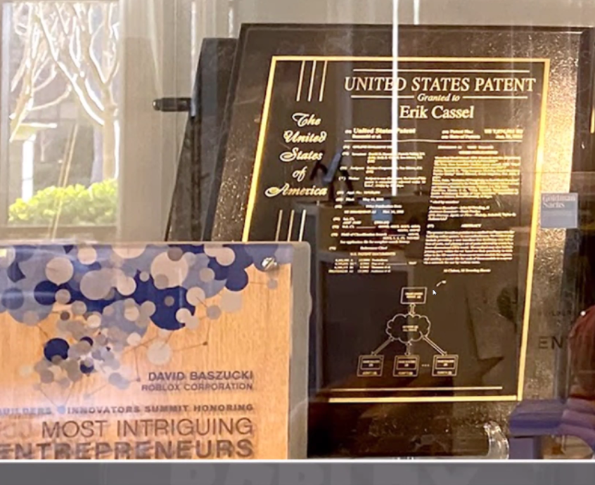 File:Roblox Corporation Patent and Award at HQ.png - Wikimedia Commons