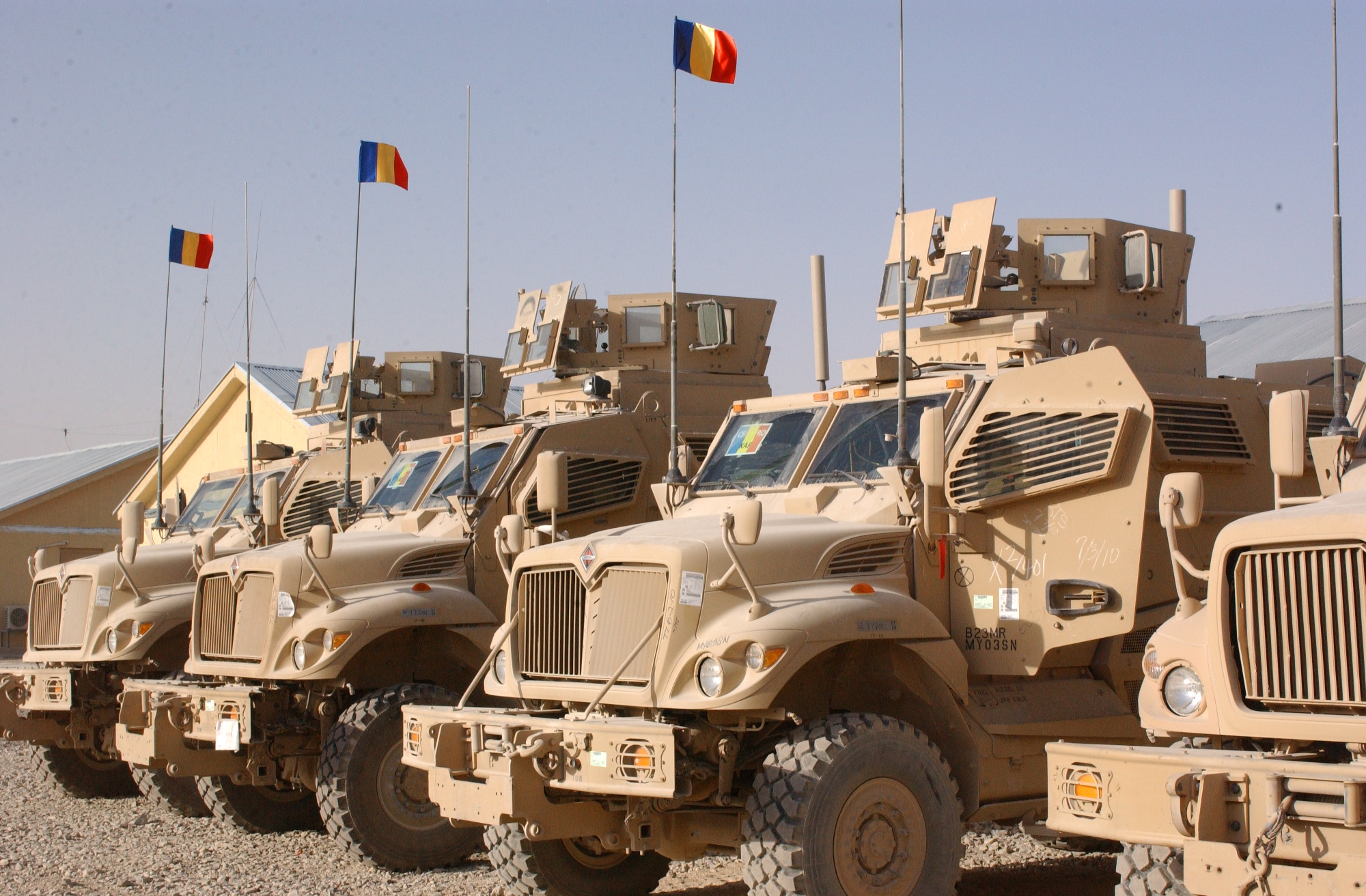 Armée Roumaine Romanian_MaxxPro_Dash_(4x4)_1
