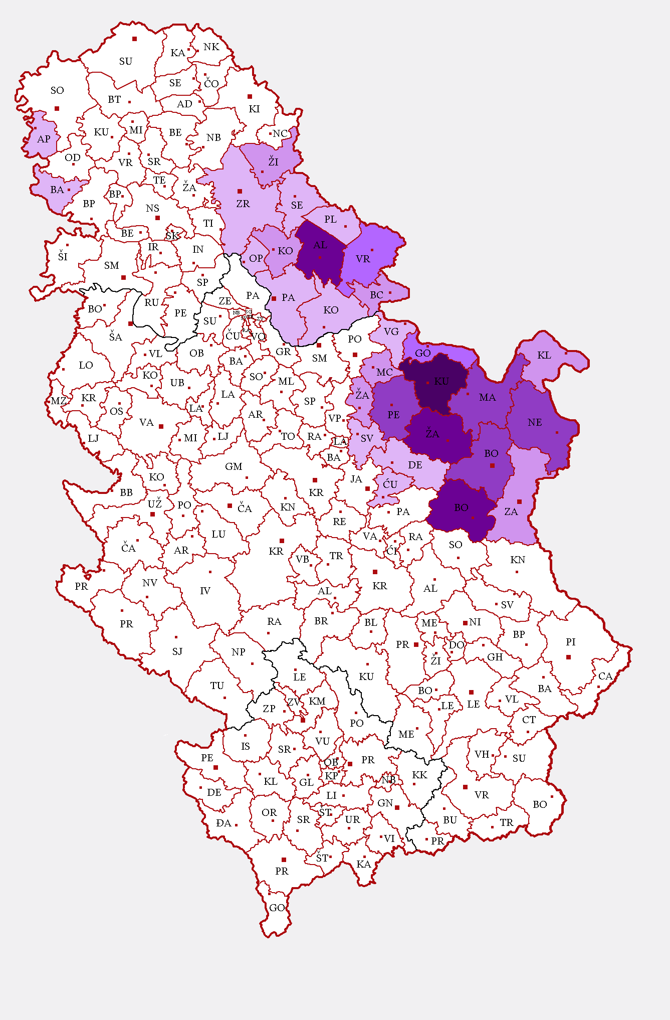 File:Romanian and Vlach language in Serbia.png - Wikipedia, the ...