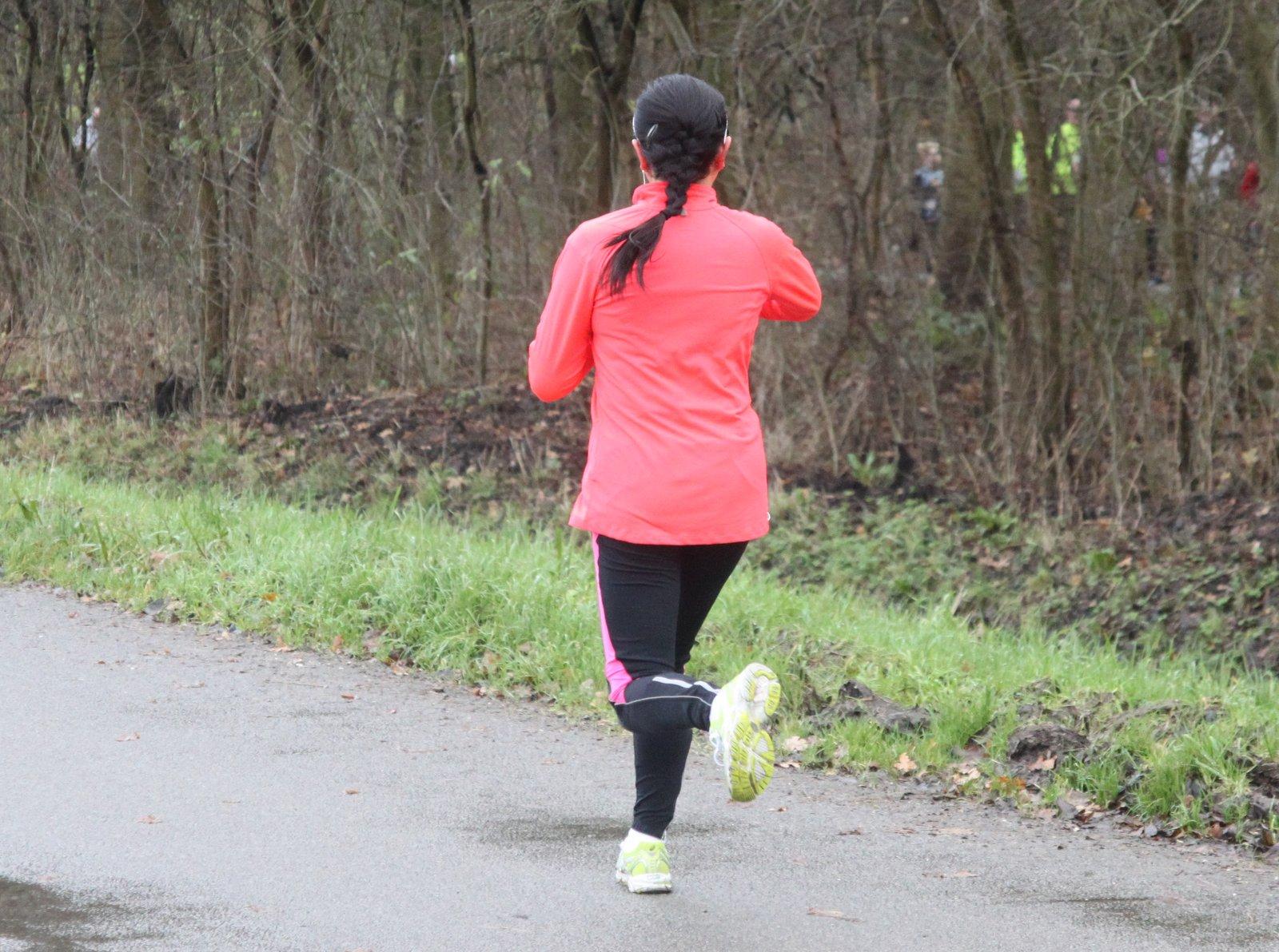 running black