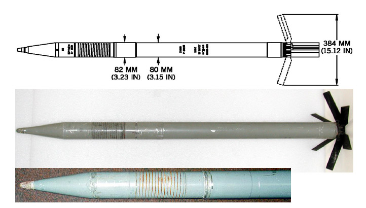 اسئلة وتعليقات ... هنا توضع اسئلة و تعليقات الاعضاء بخصوص المناظرة - صفحة 3 S-8_KOM_80_mm_rocket