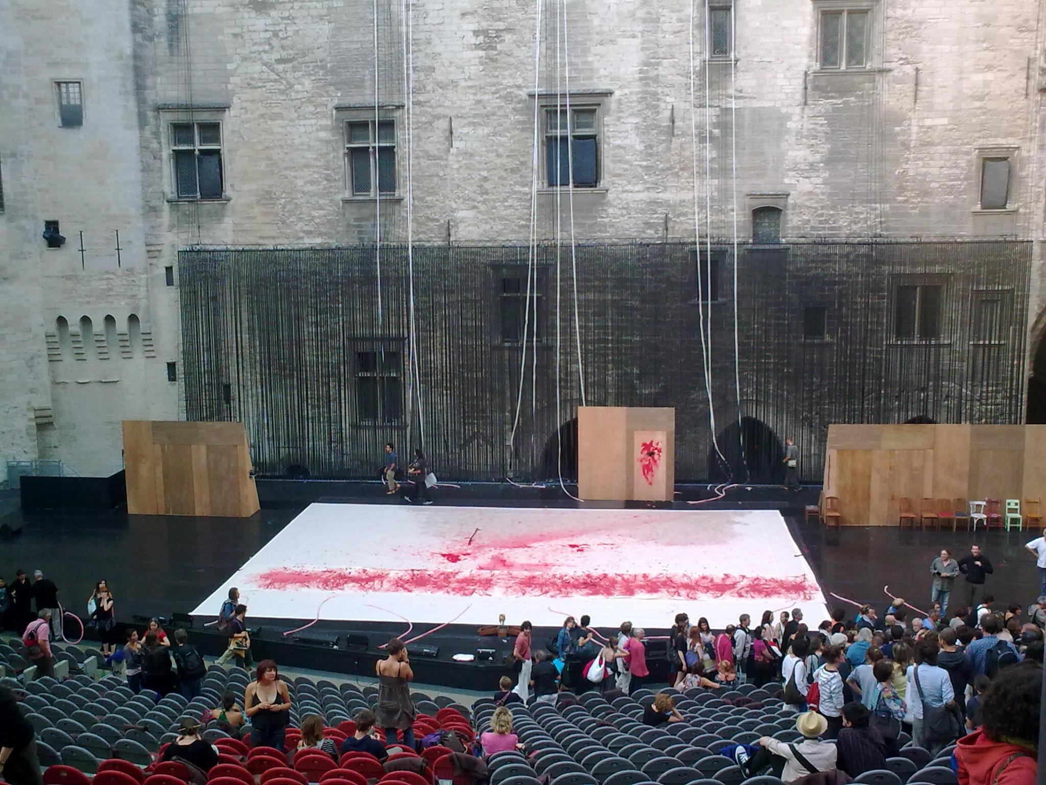 festival avignon stage