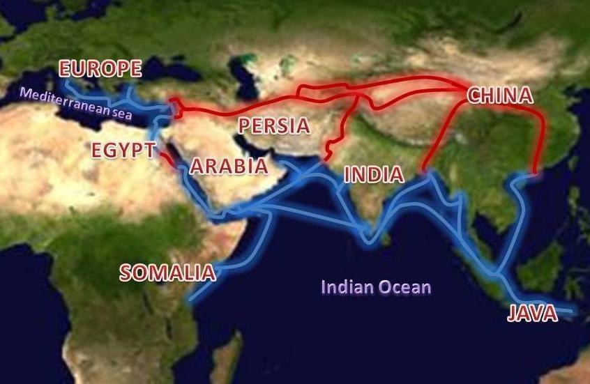 spice trade around indian ocean After a certain amount of bumbling around, portugal transformed itself as a   protected their control over the sea routes to the indian ocean.