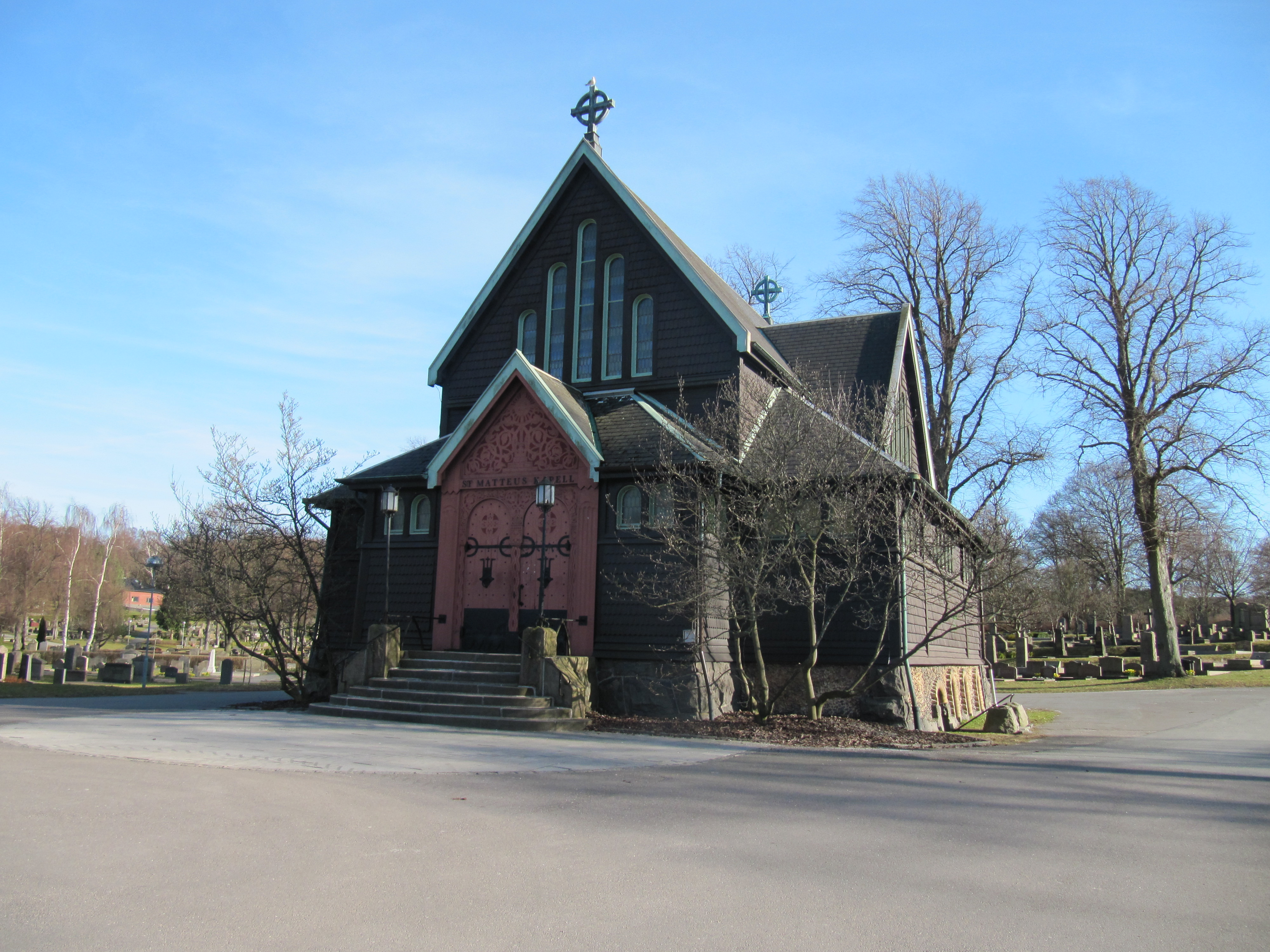 västra kyrkogården göteborg kapell