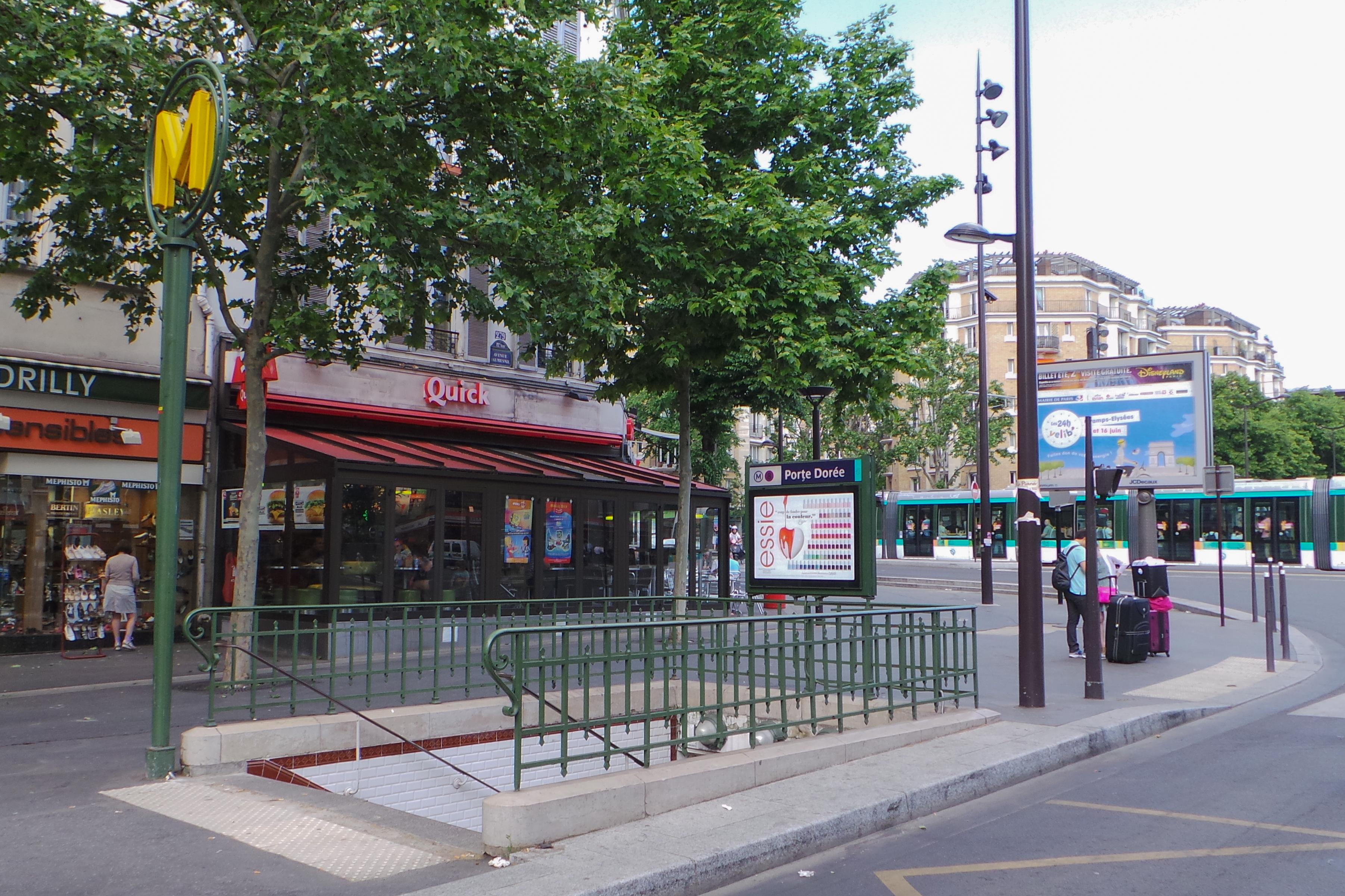 Porte Dorée (stanice metra v Paříži)