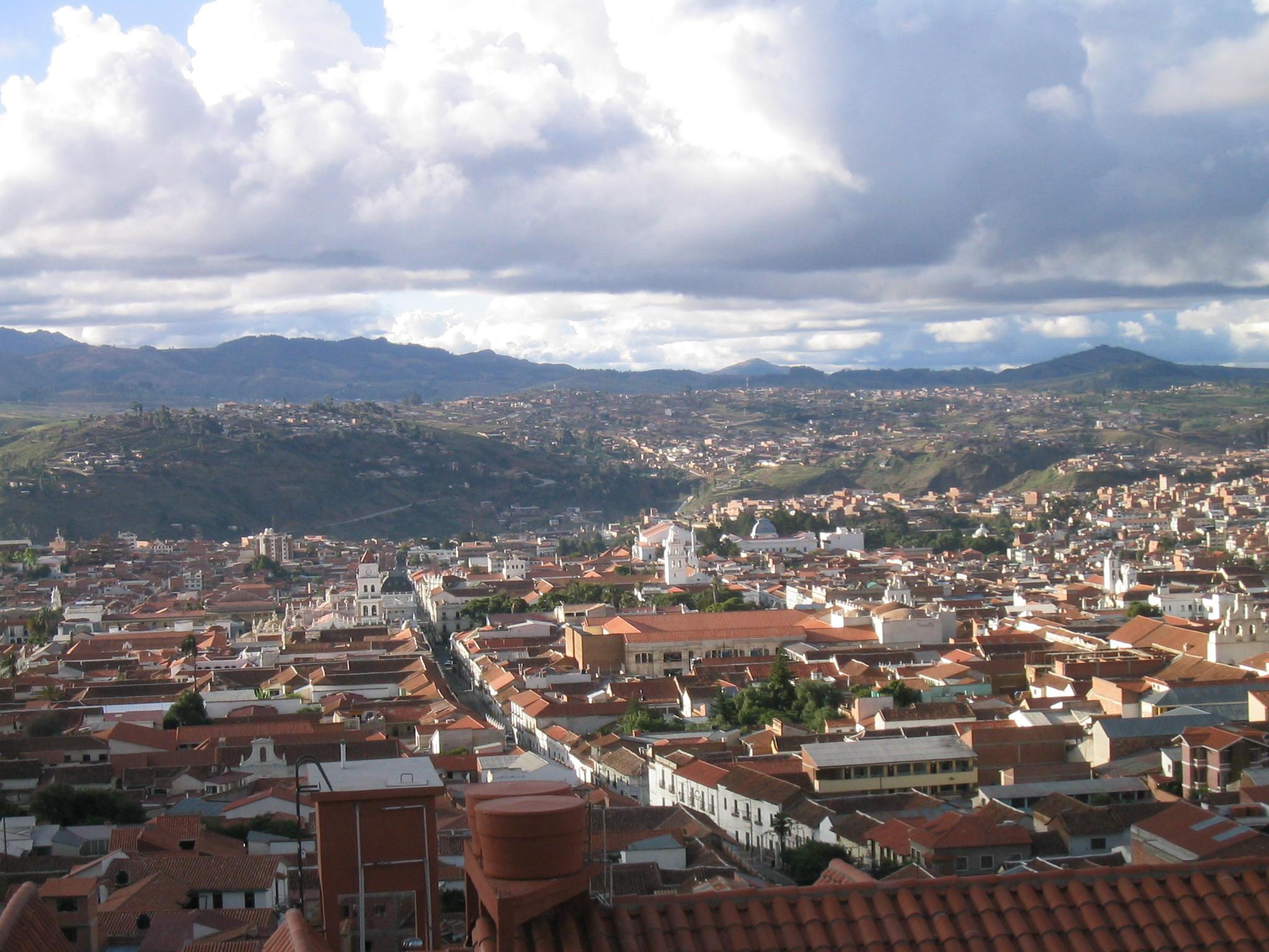 Sucre Bolivia  city pictures gallery : Description Sucre capital de Bolivia