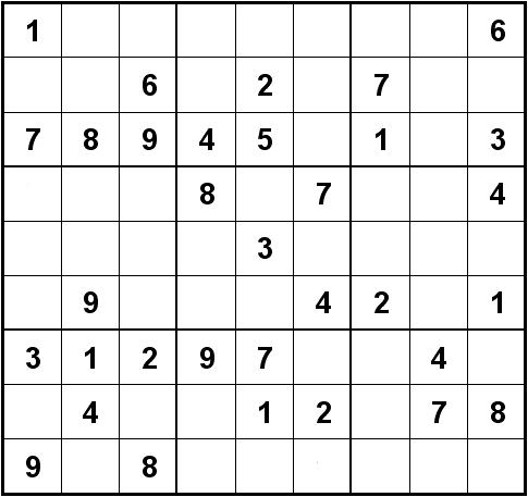 Sudoku wikipedia - Grilles de sudoku vierges ...