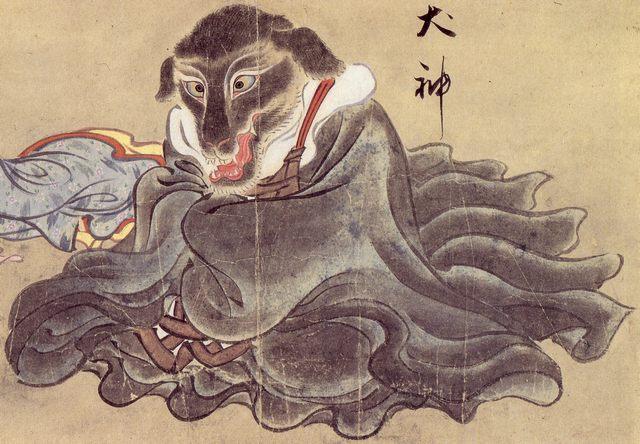 Nella mitologia giapponese un Inugami è uno spirito (Shikigami) dall'aspetto di cane e spesso nato proprio dal corpo di un cane. Esso può nascere spontaneamente oppure essere creato da qualcuno. Una volta generato però un Inugami è completamente indipendente e può rivoltarsi contro il suo possessore o usare i suoi poteri per scopi diversi da quelli previsti.