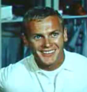 Tab Hunter as Joe Hardy Tab Hunter in Damn Yankees trailer.jpg
