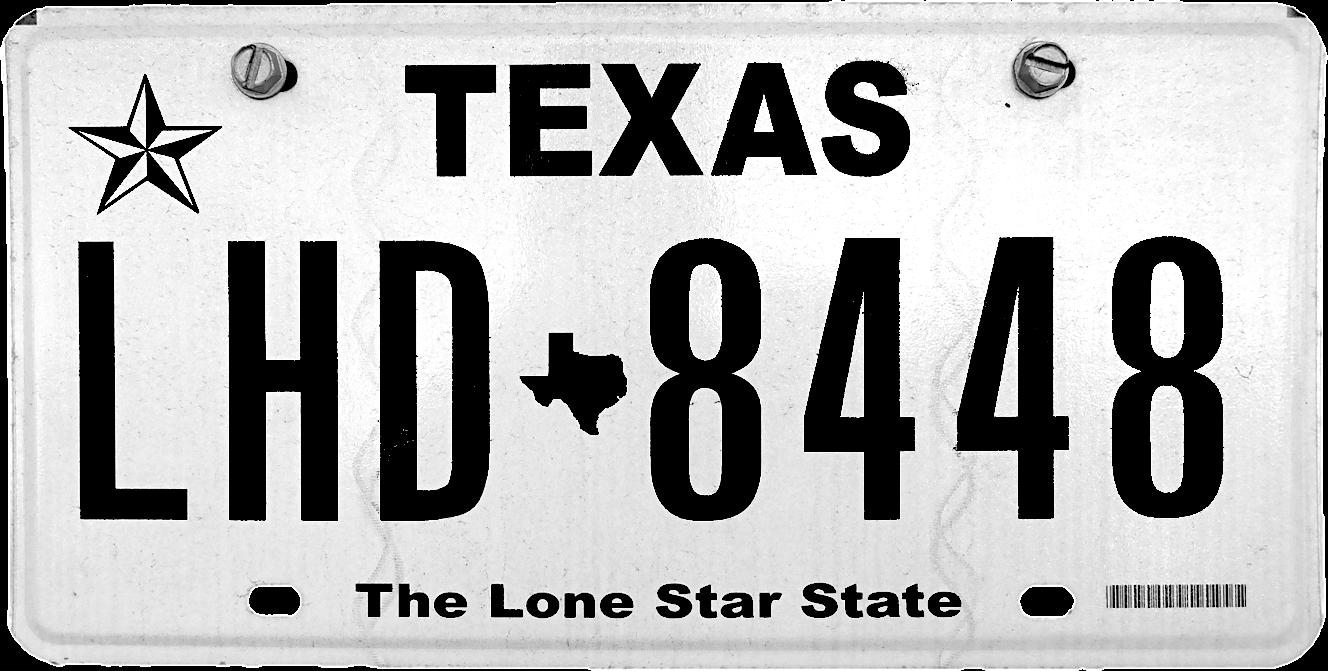 1960/'s Utah Black /& White Motorcycle License Plate
