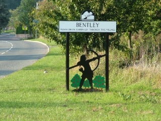 Bentley, Hampshire village in England