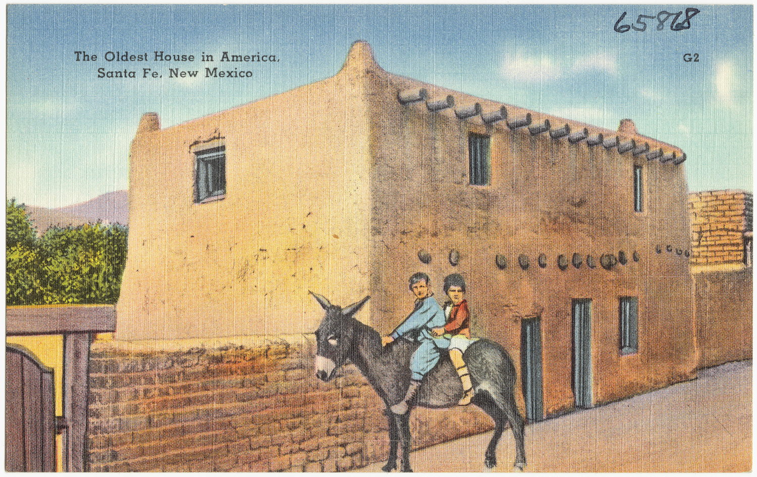 Oldest house in santa fe NM