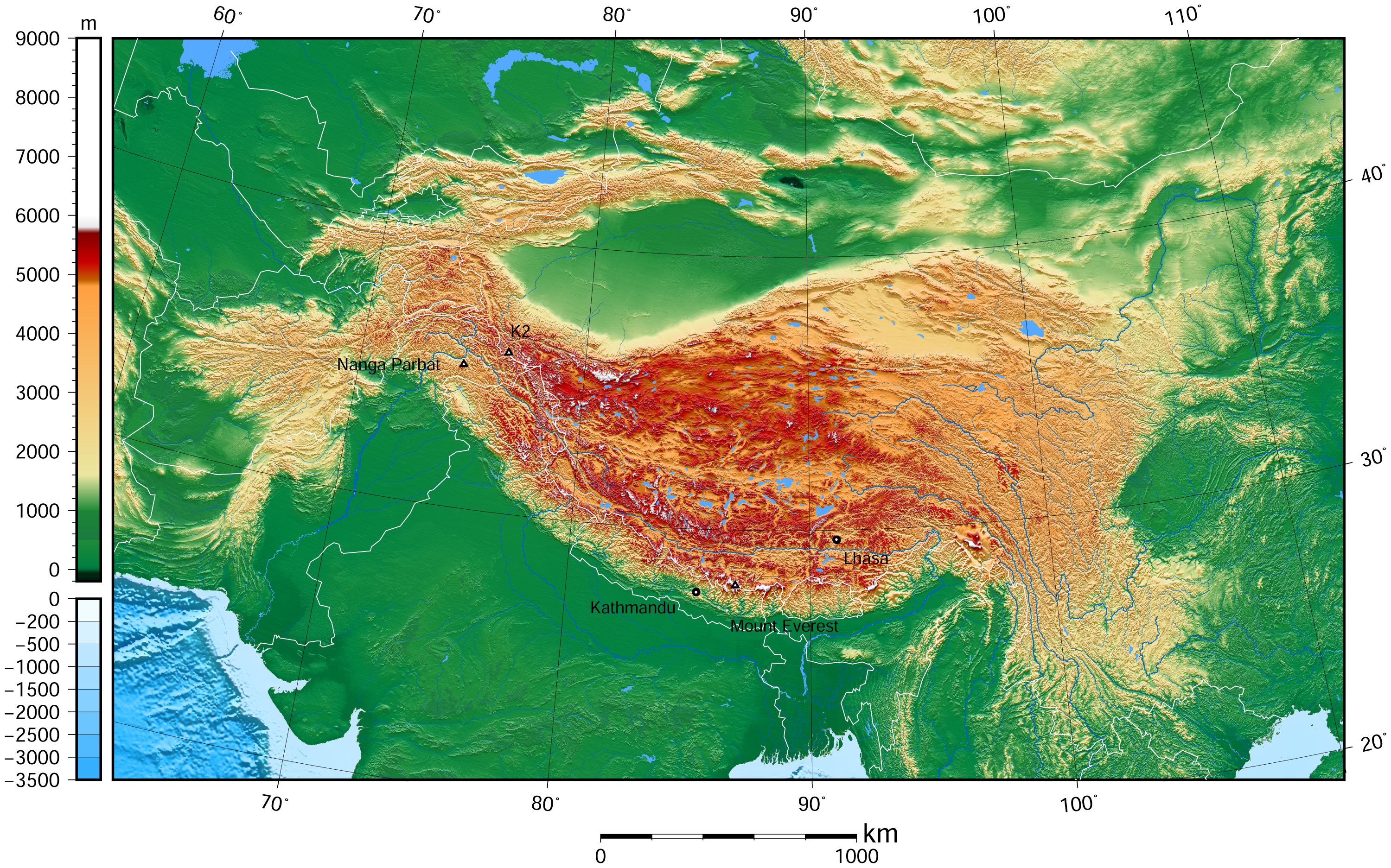 file tibet and surrounding areas topographic map 3 png