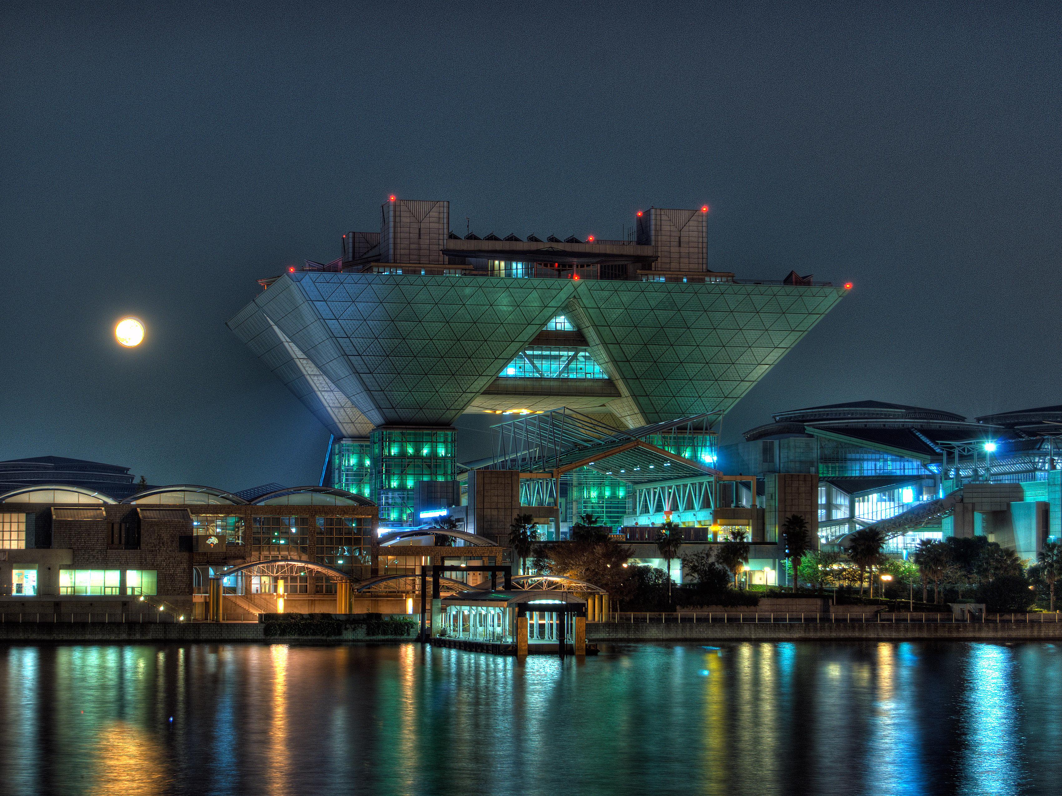File:Tokyo Big Sight at Night.jpg - Wikimedia Commons