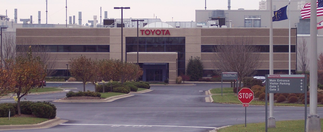 Toyota Factory in Plano, Texas