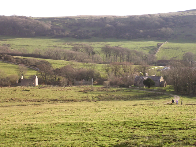 File:Tyneham village, Isle of Purbeck - geograph.org.uk - 96154.jpg