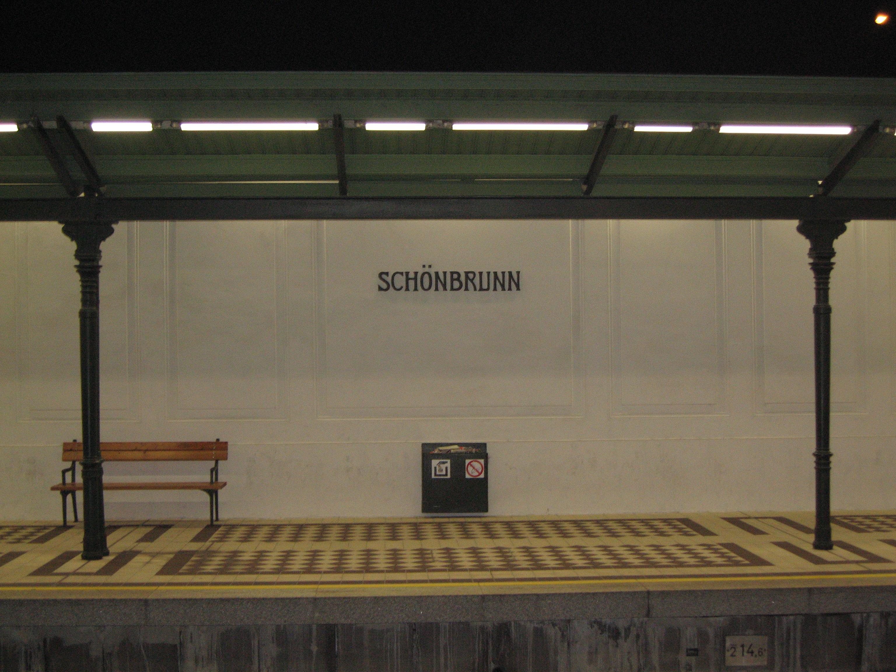 Fileunderground U4 Station Schönbrunn 6338835348jpg Wikimedia