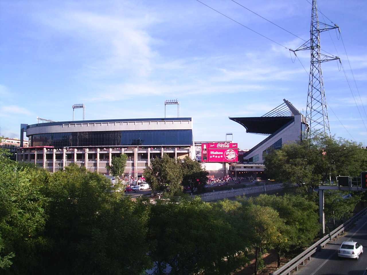 Estadio Vicente Calderón, del Atlético de Madrid.
