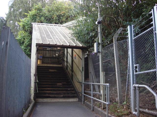 West Harrow tube station, Westbound platform entrance - geograph.org.uk - 1002363