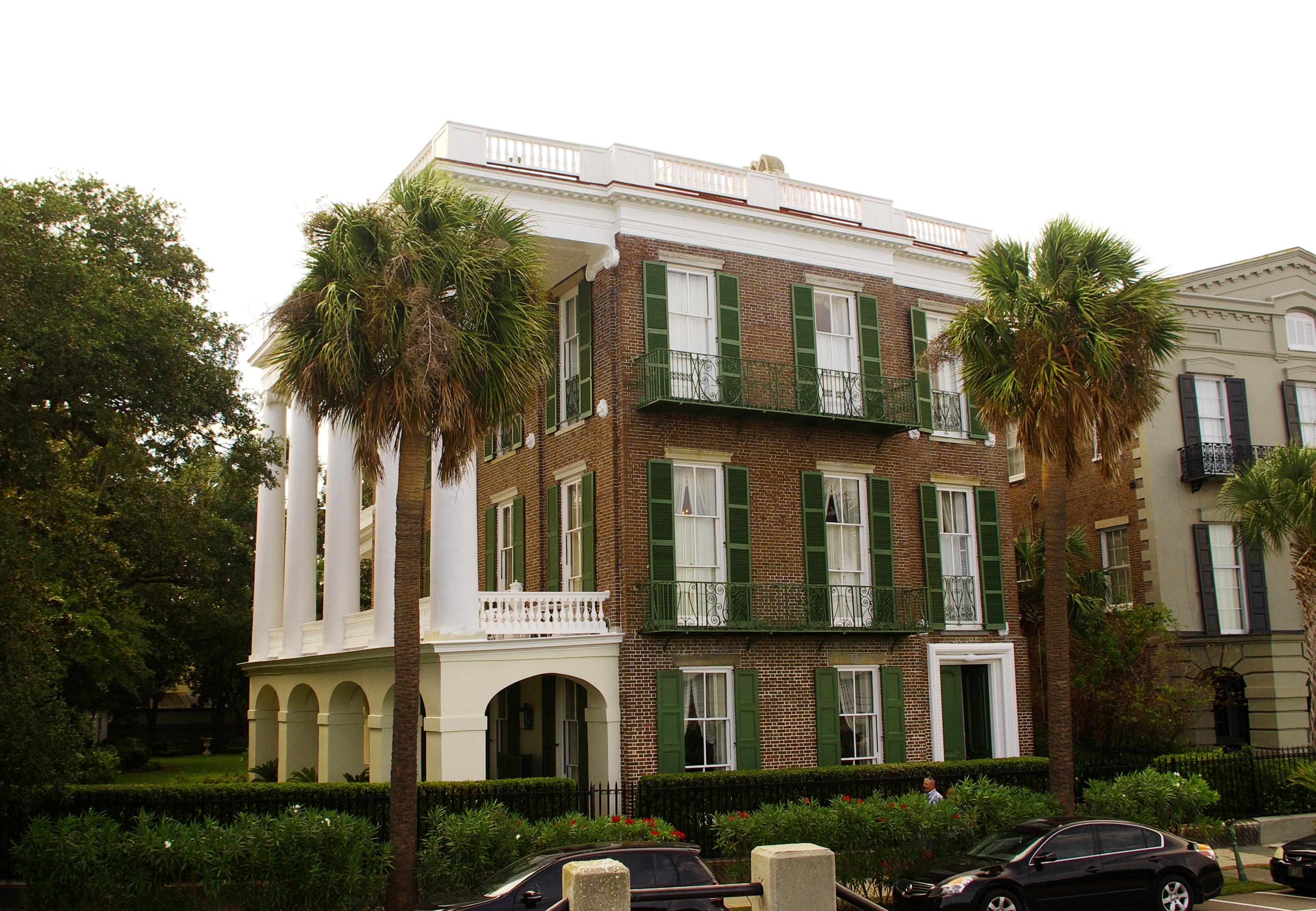 File william roper house charleston wikimedia for The carolina house