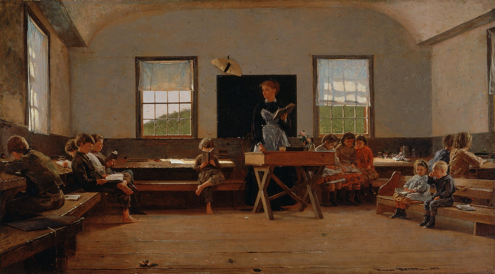 Winslow Homer - The Country School