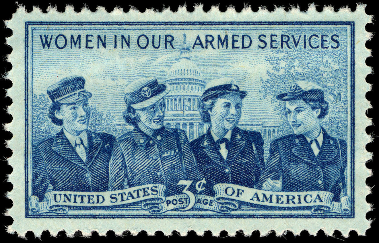 a063ea9d0f File:Women In Our Armed Forces 3c 1952 issue U.S. stamp.jpg ...