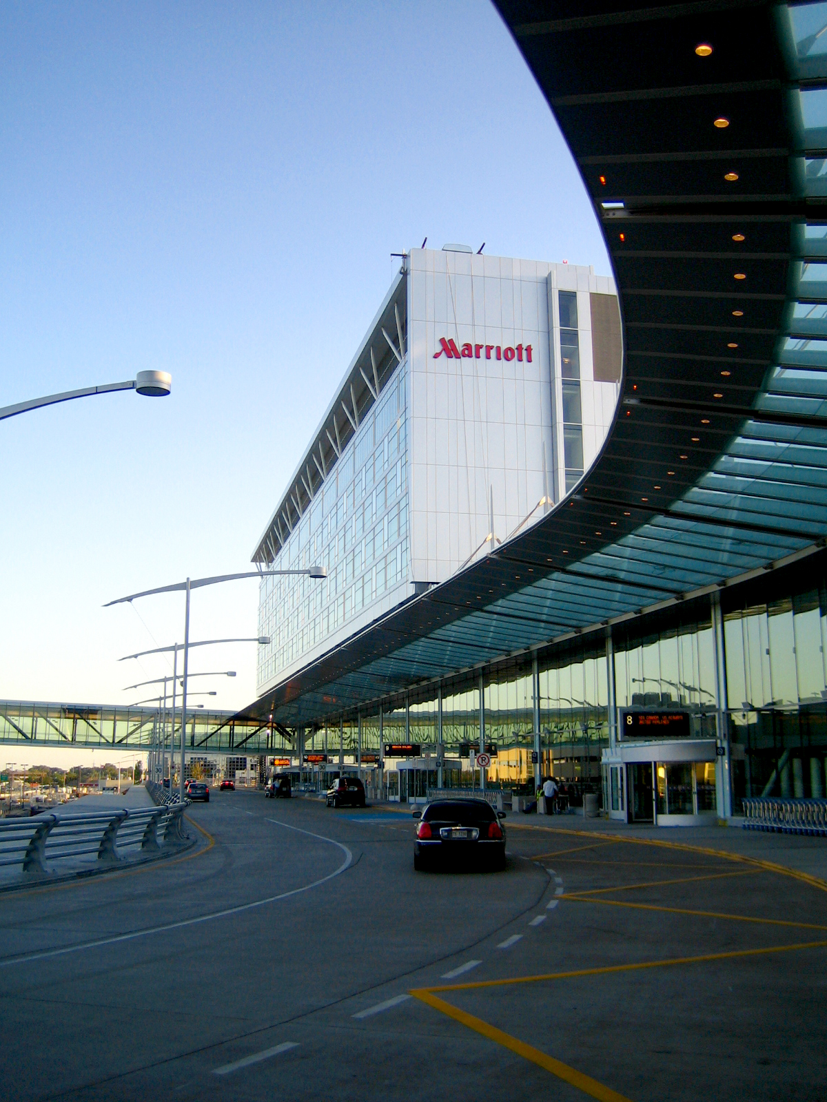 Montreal Airport Marriott In Terminal Hotel