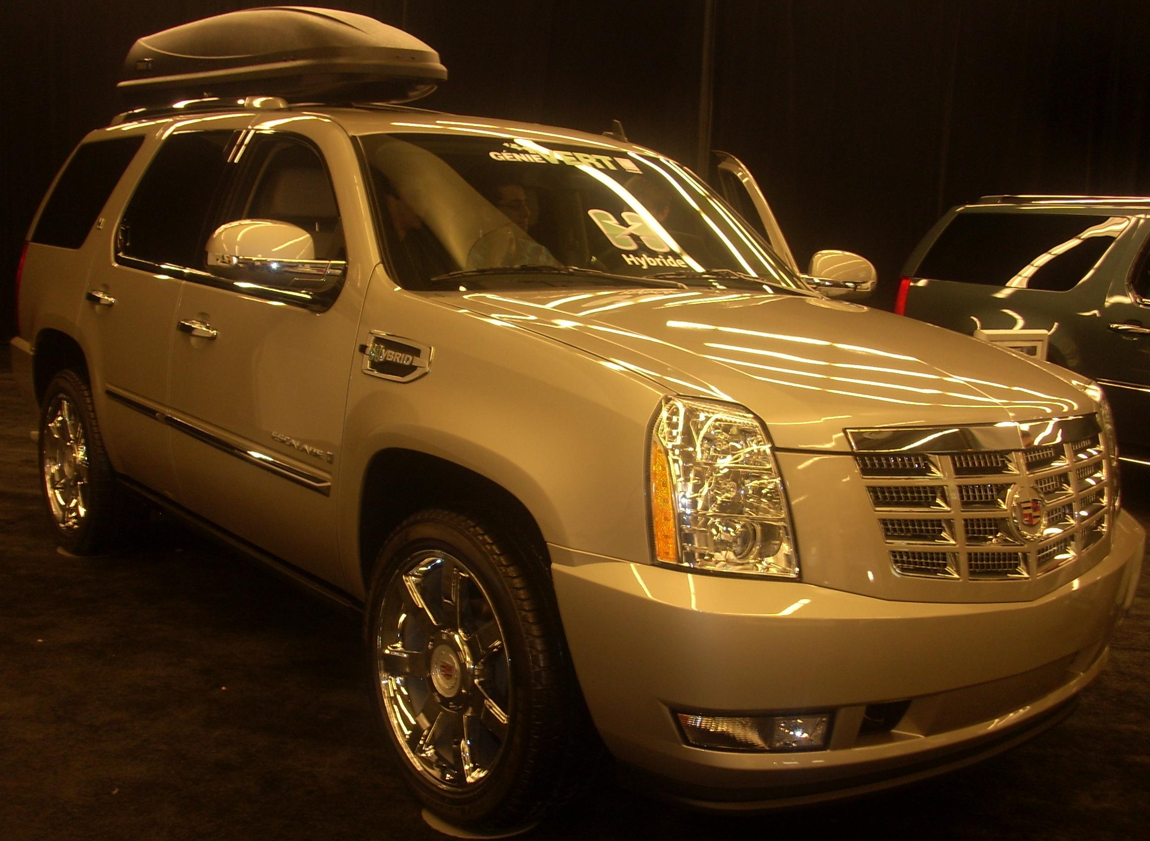 the cadillac escalade is a full size luxury suv engineered and