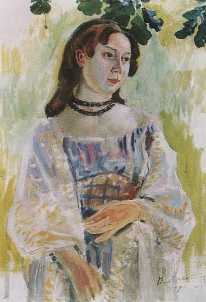 File:Борисов-Мусатов Виктор. Девушка в ожерелье. 1904.jpg