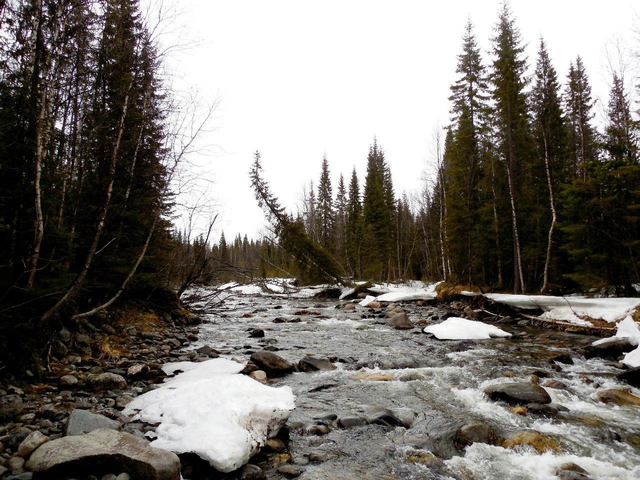 Река малая белая видео