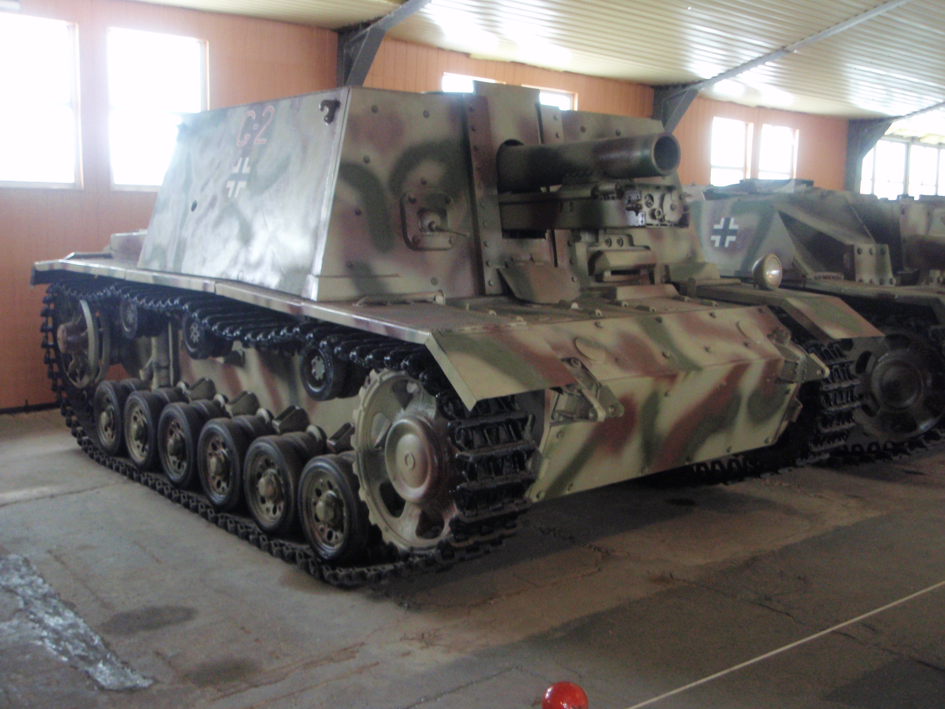 The only surviving sIG 33B at Kubinka