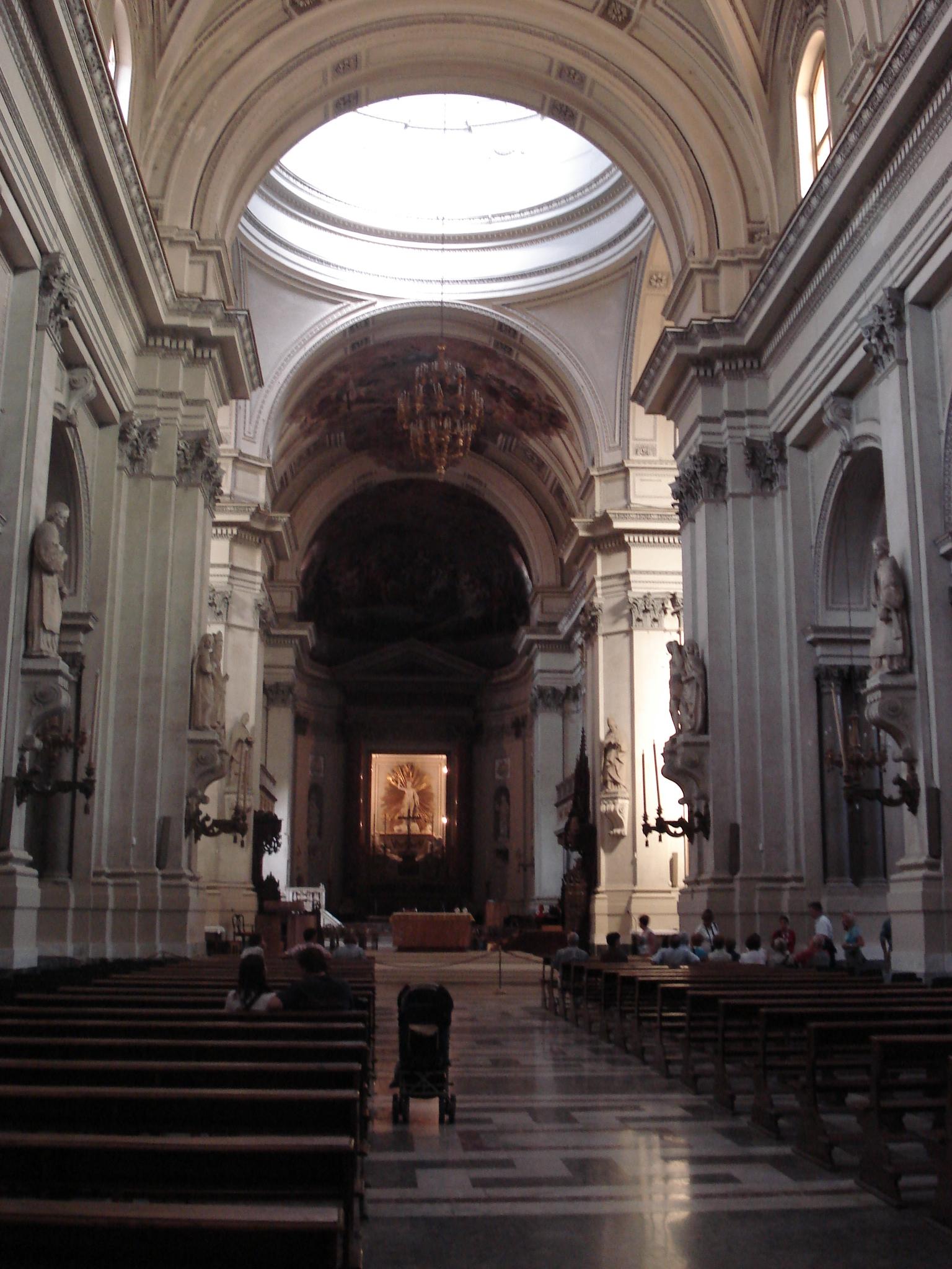 Plik 0551 Palermo Cattedrale Interno Sec Xviii