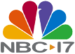 WNCN's previous logo as NBC 17, used from 2002 to 2013. Retained after Media General bought the station from NBC.