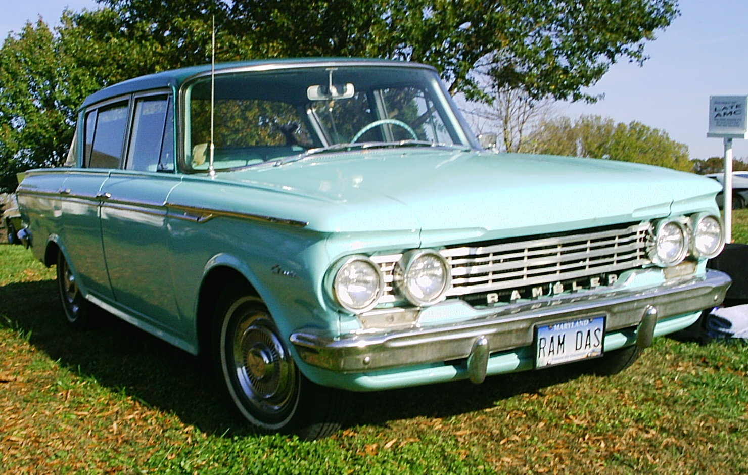 File 1962 Rambler 4 Door 2 Green Md Um Fr Jpg Wikimedia