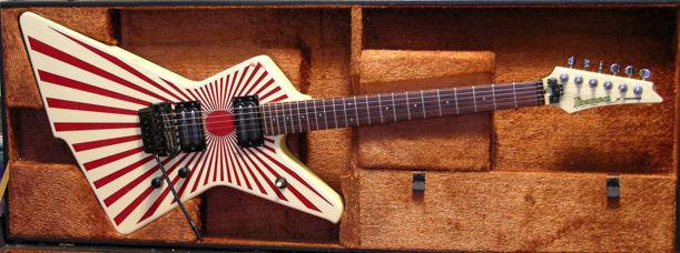 File 1985 Ibanez Electric Guitar Destroyer Model Dt380 Redsun Jpg