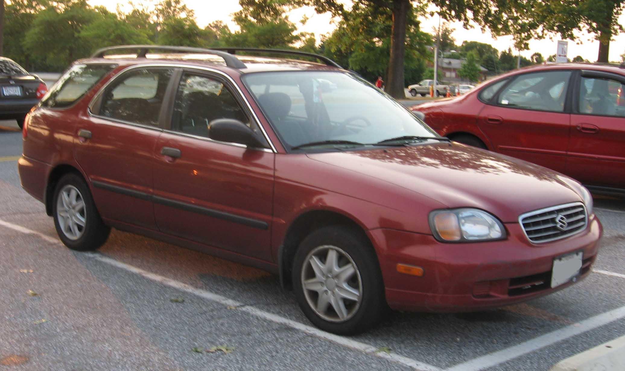 File:1999-02 Suzuki Esteem Wagon.jpg - Wikimedia Commons