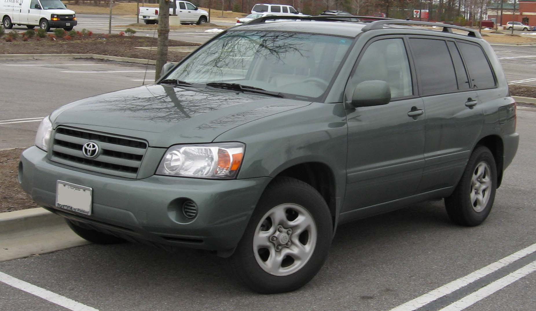 File 2004 06 Toyota Highlander Jpg Wikimedia Commons