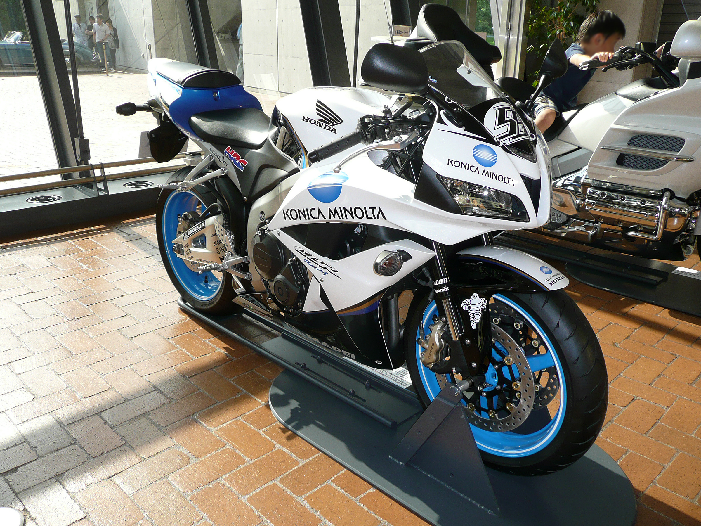 File:2008 Honda CBR600RR Konica Minolta Special Edition