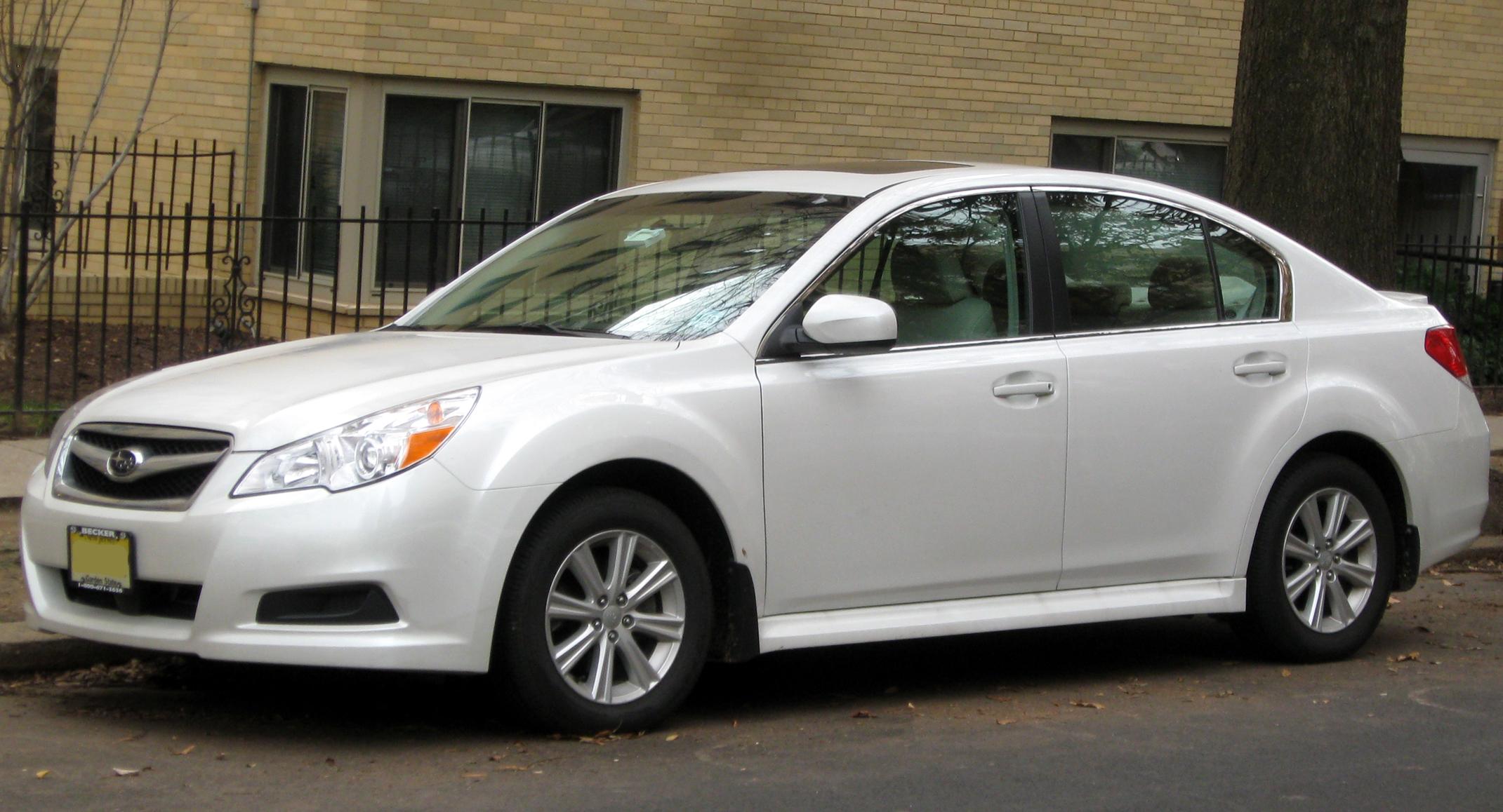 Depiction of Subaru Legacy