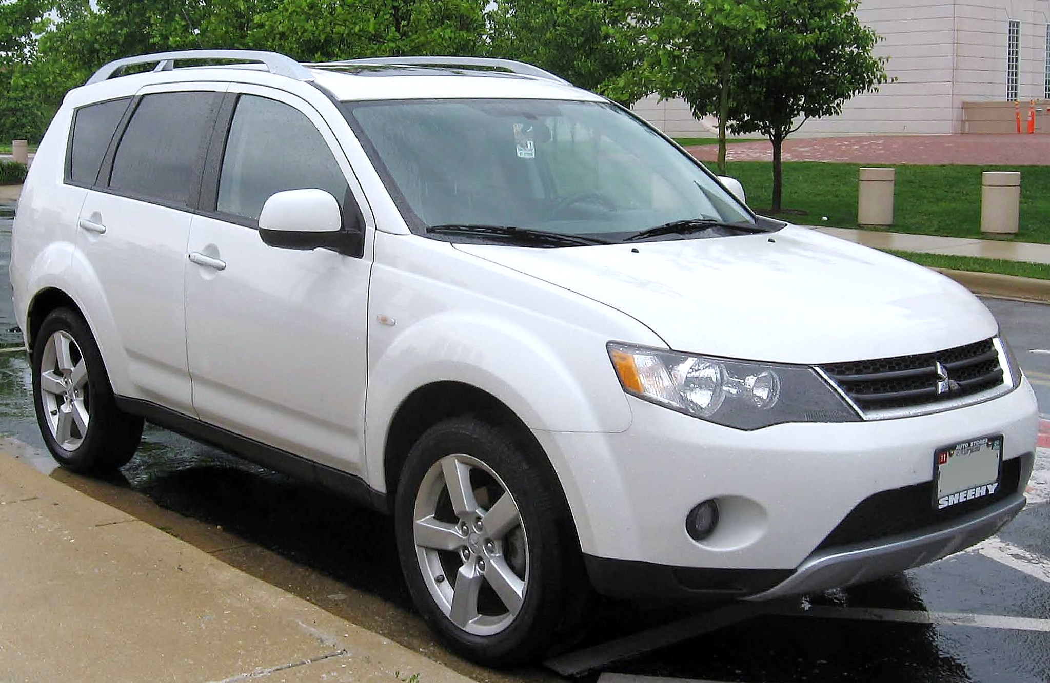 File 2nd Mitsubishi Outlander Jpg Wikimedia Commons