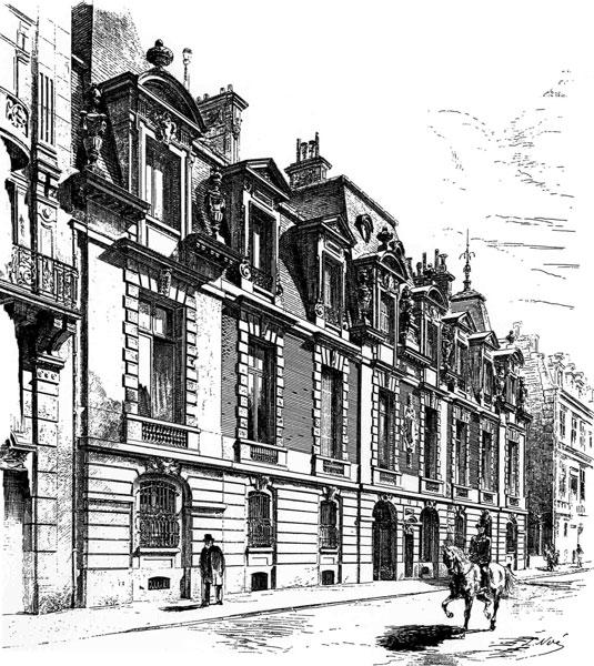 Fichier:64 RUE DE LISBONNE Façade - 1878 - Source Dictionnaire par noms d'architectes par Anne DUGAIST et Isabelle PARIZET.jpg