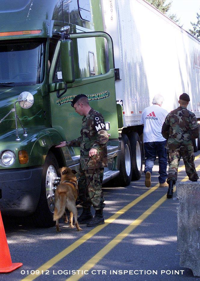 Explosive Detection Dog Training