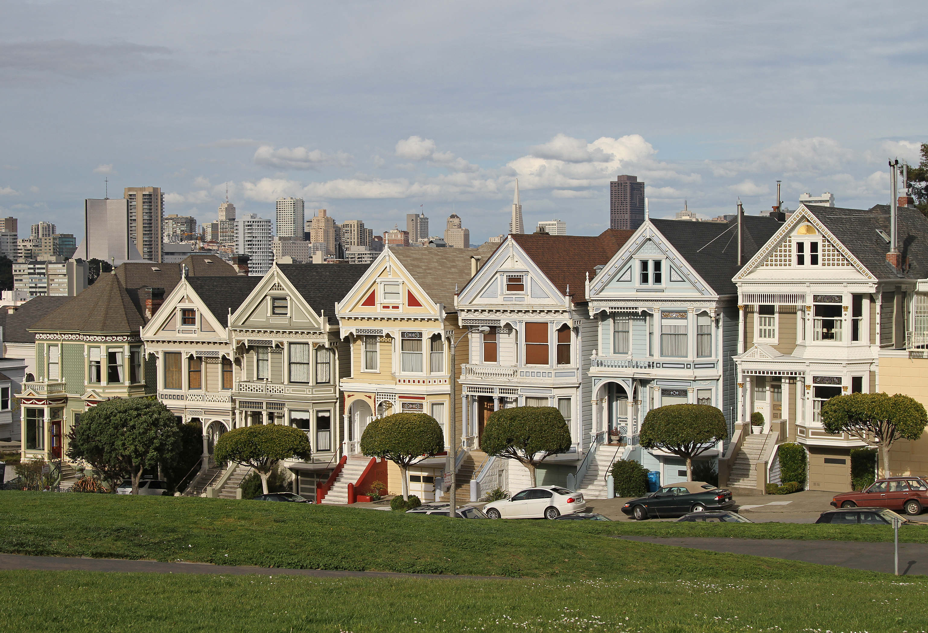 file alamo sq painted ladies 3 sf ca jjron wikimedia commons. Black Bedroom Furniture Sets. Home Design Ideas