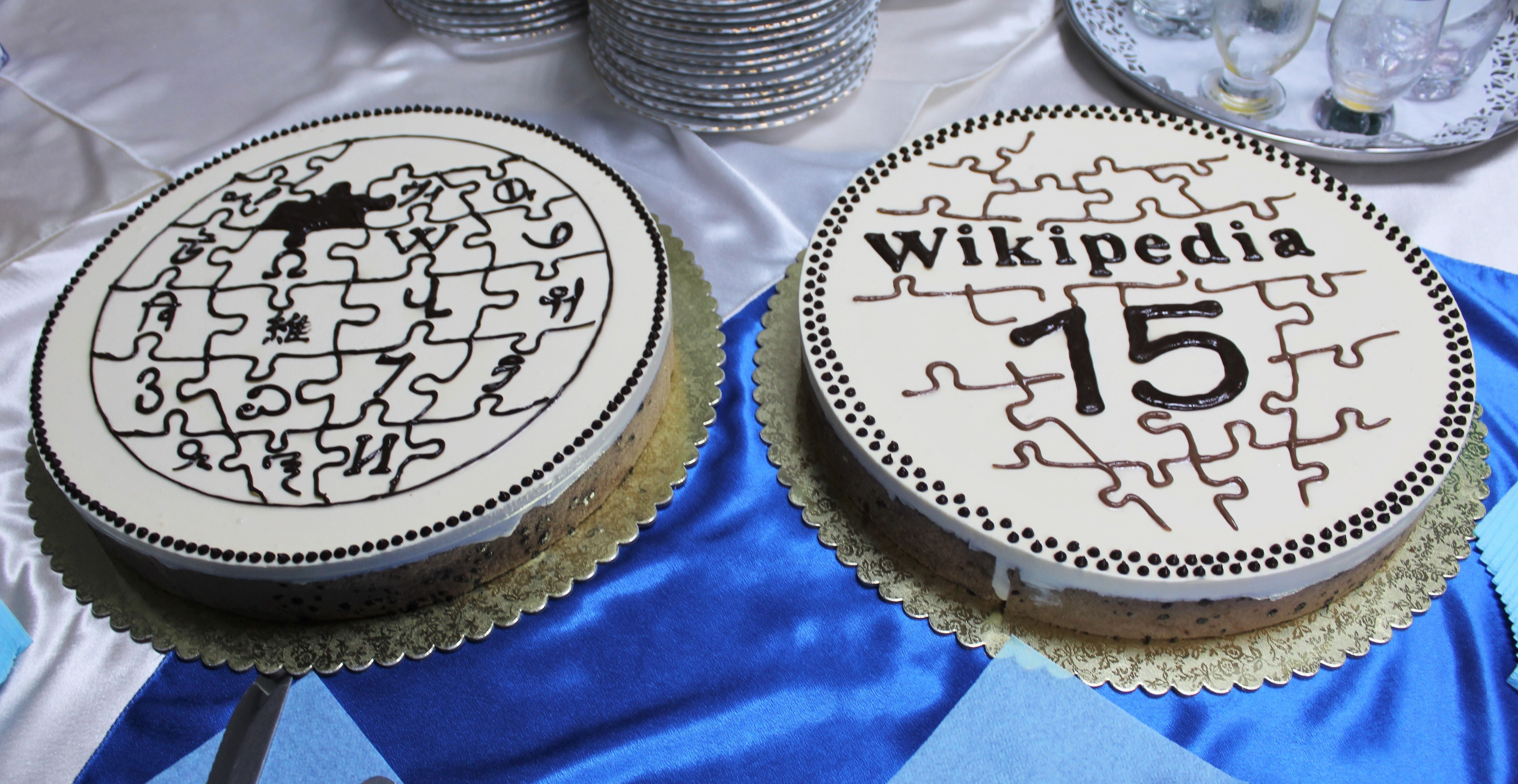 Surprising File Armenian Wiki Birthday Cakes 2016 Jpg Wikimedia Commons Funny Birthday Cards Online Aeocydamsfinfo