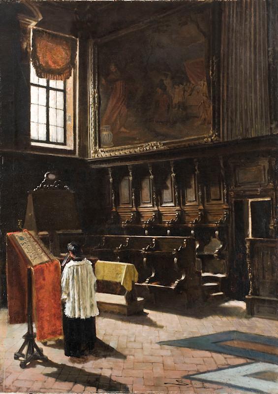 """Il coro di Sant'Antonio"" (The Choir of Sant Antony) (1879)"