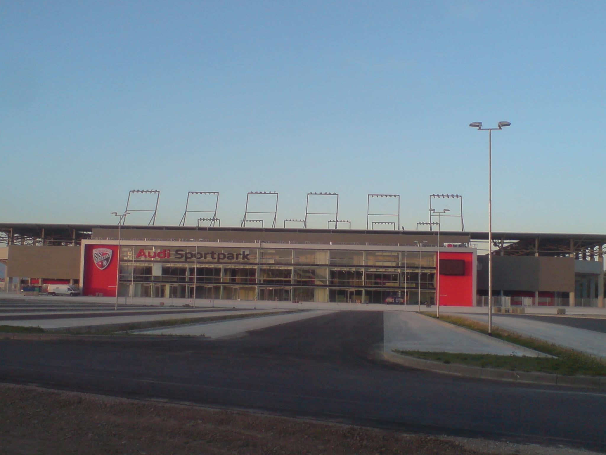 Der Audi-Sportpark in Ingolstadt