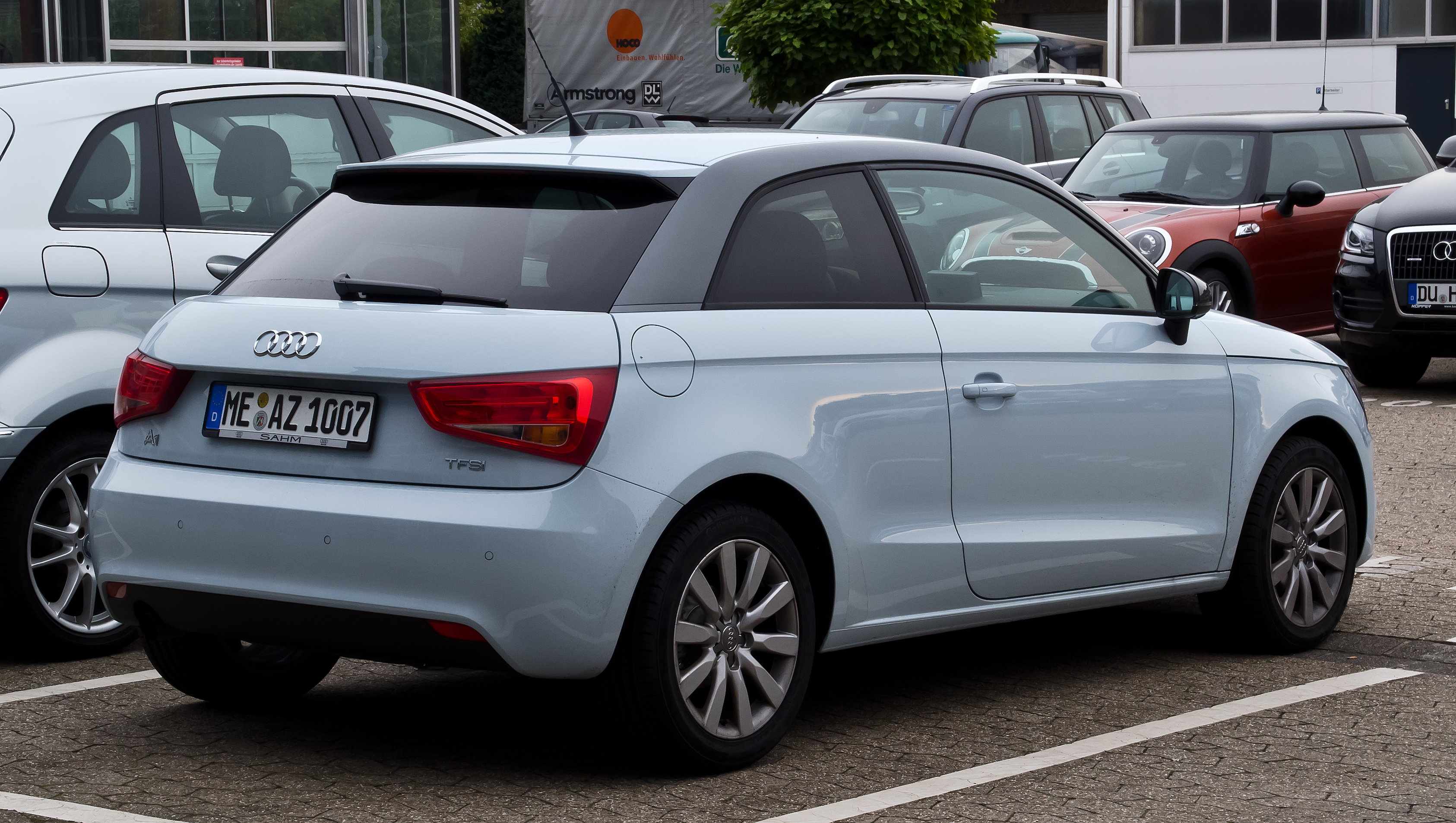 File Audi A1 1 2 Tfsi Attraction Heckansicht 23