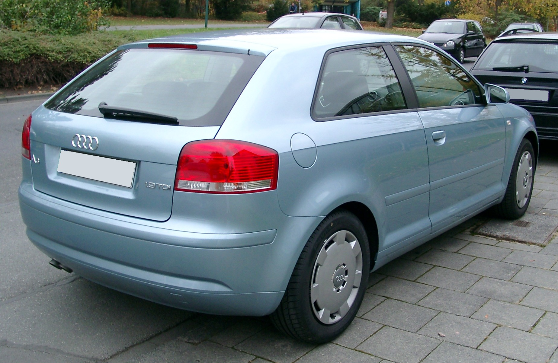 File Audi A3 Rear 20071026 Jpg Wikimedia Commons